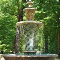 Mosaikbrunnen Großer Garten Dresden ©die-infoseiten.de