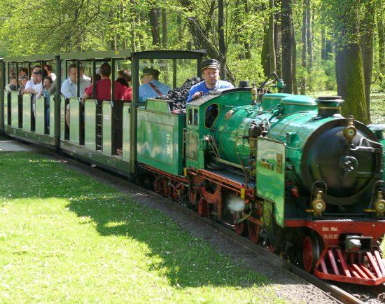 Parkeisenbahn Großer Garten Dresden ©die-infoseiten.de