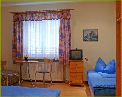 Zimmer in der Pension Pamp am Großen Garten Dresden